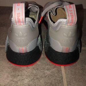 Adidas NMD R1 Solar Red Grey Men Size US 11 F35882